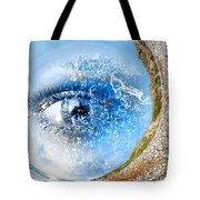 The Eye Of Nature 3 Tote Bag