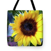 The Eye Of The Flower Tote Bag