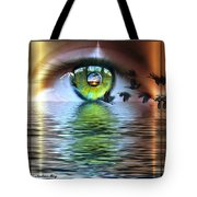 The Eye Of The Observer Tote Bag