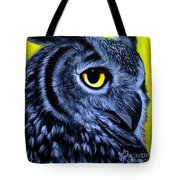The Eye Of The Owl -the  Goobe Series Tote Bag