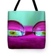 The Eye Of The Petal II Tote Bag