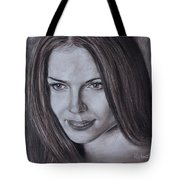 The Eyes An Unknown Woman Tote Bag