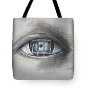 The Eyes Gate Tote Bag