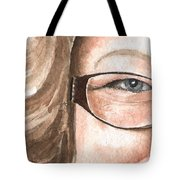 The Eyes Have It - Emma Tote Bag