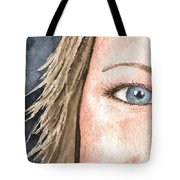 The Eyes Have It - Jill Tote Bag