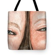 The Eyes Have It- K And K Tote Bag
