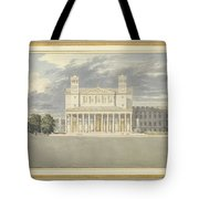 The Fa?ade And Suroundings Of A Cathedral For Berlin Tote Bag