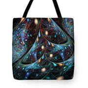 The Fabric Of The Universe Tote Bag