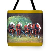 The Fabulous Four Tote Bag by Jean Ann Curry Hess