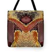 The Face / 2 Tote Bag