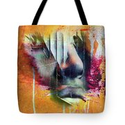The Face At The Wall Tote Bag