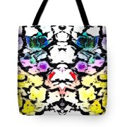 The Face Emerging Tote Bag