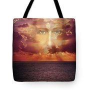 The Face Of Christ Tote Bag