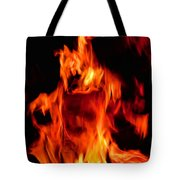 The Face Of Fire Tote Bag