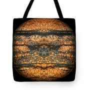The Face Of Geology Tote Bag