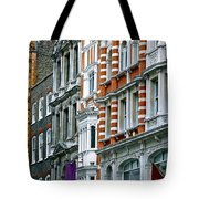 The Face Of London Tote Bag