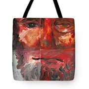The Face Of Love Tote Bag