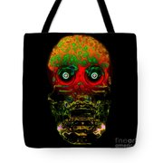 The Face Of Man Tote Bag by David Lee Thompson