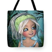 The Face Of Nicole Tote Bag