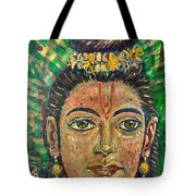The Face Of Rama Tote Bag