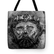 The Face Of War Tote Bag