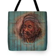 The Face Of Wisdom Tote Bag