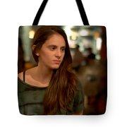 The Face Series - Kim - Digitart Tote Bag