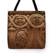 The Faces Of Old City Hall - 1  Tote Bag