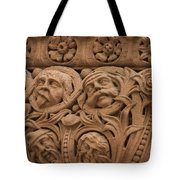 The Faces Of Old City Hall - 2 Tote Bag