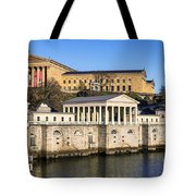 The Fairmount Water Works And Art Museum Tote Bag