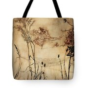 The Fairy's Tightrope From Peter Pan In Kensington Gardens Tote Bag