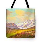 The Fall Colors Of Alaska Route 8 No.3 Tote Bag