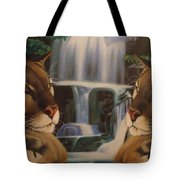 The Fall Of A Reflection  Tote Bag
