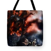 The Fall Of Azturath Tote Bag