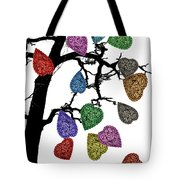 The Fall Of Hearts Tote Bag