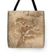 The Fall Of The Rebel Angels [recto] Tote Bag