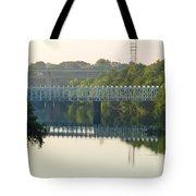 The Falls And Roosevelt Expressway Bridges - Philadelphia Tote Bag