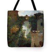 The Falls Of Tivoli Tote Bag