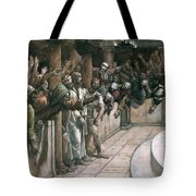 The False Witness Tote Bag by Tissot