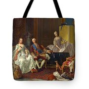 The Family Of Philip Of Parma  Tote Bag