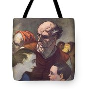The Family On The Barricades Tote Bag
