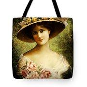 The Fancy Bonnet Tote Bag by Emile Vernon