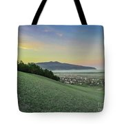 The Far Mountain Tote Bag