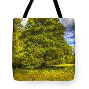 The Farm Tree Art Tote Bag