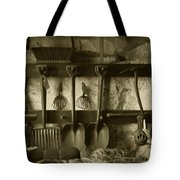 The Farmer's Toolshed Tote Bag