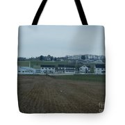 The Farmland Has Been Tilled Tote Bag