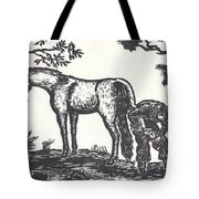 The Farrier Trims Geronimo Tote Bag