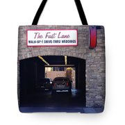 The Fast Lane 2 Tote Bag