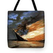 The Fate Of The Rebel Flag Tote Bag