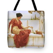The Favorite Tote Bag by John William Godward